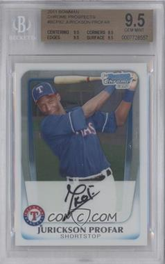 2011 Bowman Chrome Prospects #BCP82 - Jurickson Profar [BGS 9.5]
