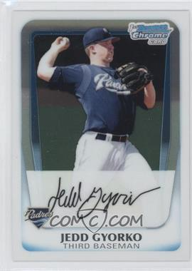 2011 Bowman Chrome Prospects #BCP83 - Jedd Gyorko