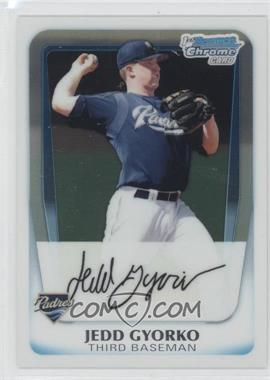 2011 Bowman Chrome Prospects #BCP83 - Jedd Gyorko