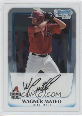 2011 Bowman Chrome Prospects #BCP88 - Wagner Mateo