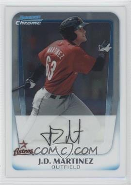 2011 Bowman Chrome Prospects #BCP92 - J.D. Martinez