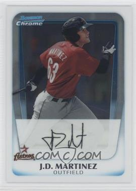 2011 Bowman Chrome Prospects #BCP92 - J.D. Martinez