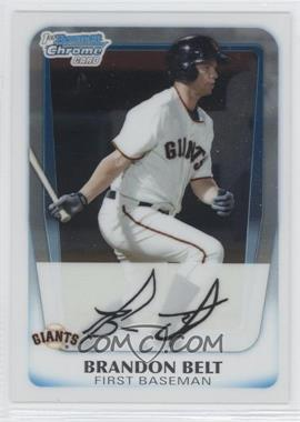 2011 Bowman Chrome Prospects #BCP93 - Brandon Belt