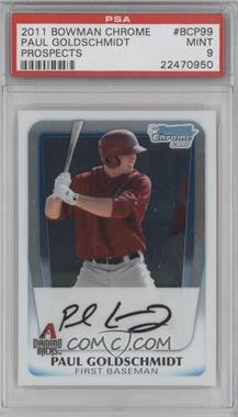 2011 Bowman Chrome Prospects #BCP99 - Paul Goldschmidt [PSA 9]