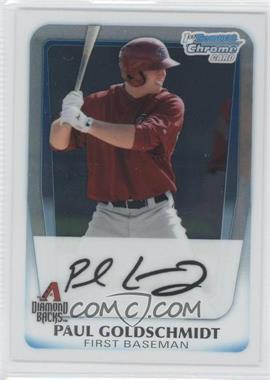 2011 Bowman Chrome Prospects #BCP99 - Paul Goldschmidt