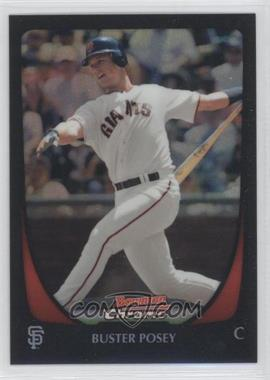 2011 Bowman Chrome Refractor #1 - Buster Posey