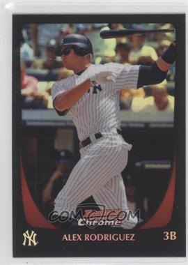 2011 Bowman Chrome Refractor #151 - Alex Rodriguez