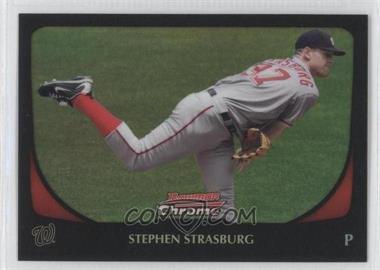 2011 Bowman Chrome Refractor #159 - Stephen Strasburg