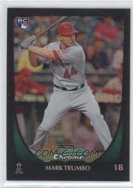 2011 Bowman Chrome Refractor #173 - Mark Trumbo