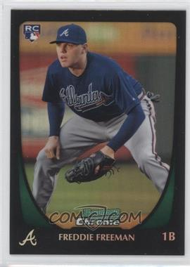 2011 Bowman Chrome Refractor #185 - Freddie Freeman