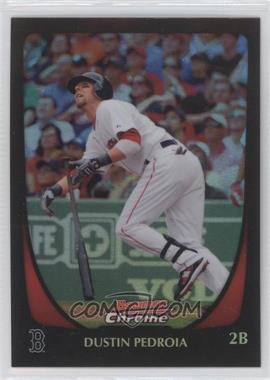 2011 Bowman Chrome Refractor #19 - Dustin Pedroia
