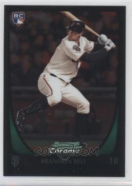 2011 Bowman Chrome Refractor #203 - Brandon Belt