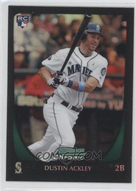 2011 Bowman Chrome Refractor #212 - Dustin Ackley
