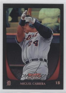 2011 Bowman Chrome Refractor #36 - Miguel Cabrera
