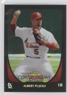 2011 Bowman Chrome Refractor #5 - Albert Pujols