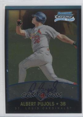 2011 Bowman Chrome Throwbacks #BCT340 - Albert Pujols