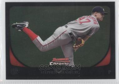 2011 Bowman Chrome #159 - Stephen Strasburg