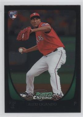 2011 Bowman Chrome #206 - Alexi Ogando