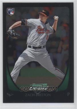 2011 Bowman Chrome #210 - Zach Britton