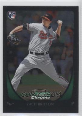 2011 Bowman Chrome #210 - Zach Britton