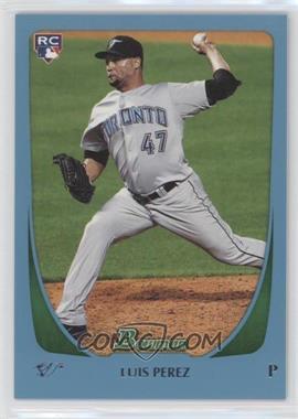 2011 Bowman Draft Picks & Prospects - [Base] - Blue #69 - Luis Perez /499
