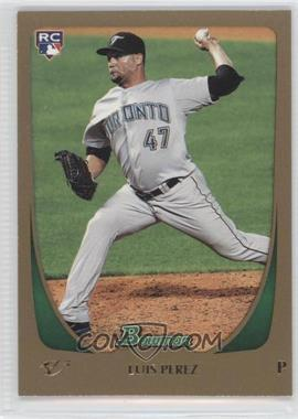 2011 Bowman Draft Picks & Prospects - [Base] - Gold #69 - Luis Perez