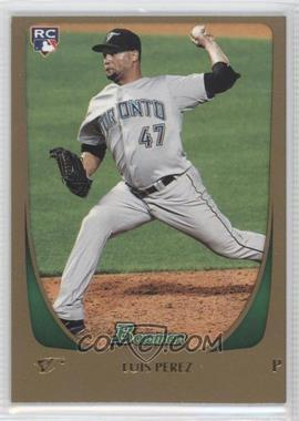 2011 Bowman Draft Picks & Prospects - [Base] - Gold #69 - Luis Perez