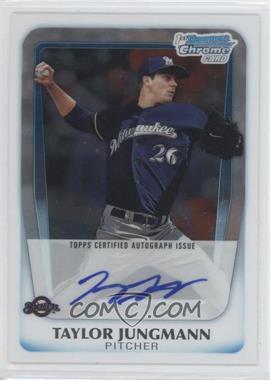 2011 Bowman Draft Picks & Prospects - Chrome Prospects Autograph #BCAP-TJ - Taylor Jungmann