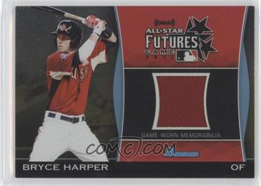 2011 Bowman Draft Picks & Prospects - Futures Game Relics - Gold #FGR-BH - Bryce Harper /50
