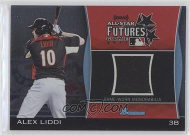 2011 Bowman Draft Picks & Prospects - Futures Game Relics #FGR-AL - Alex Liddi