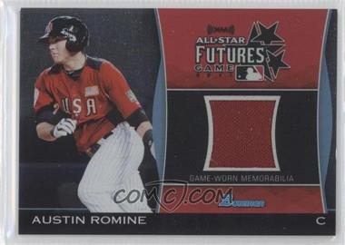 2011 Bowman Draft Picks & Prospects - Futures Game Relics #FGR-AR - Austin Romine