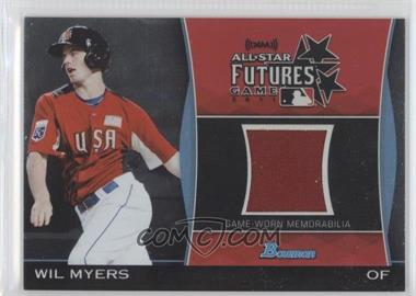 2011 Bowman Draft Picks & Prospects - Futures Game Relics #FGR-WM - Wil Myers