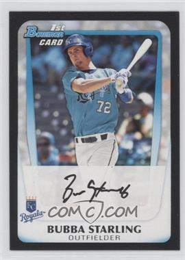 2011 Bowman Draft Picks & Prospects - Prospects #BDPP82 - Bubba Starling