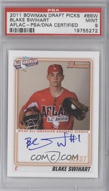 2011 Bowman Draft Picks & Prospects Aflac All-American Certified Autographs [Autographed] #AFLAC-BSW - Blake Swihart [PSA 9]