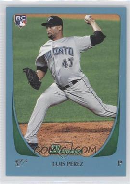 2011 Bowman Draft Picks & Prospects Blue #69 - Luis Perez /499