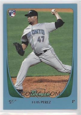 2011 Bowman Draft Picks & Prospects Blue #69 - Luis Perez /499