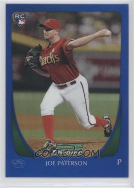 2011 Bowman Draft Picks & Prospects Chrome Blue Refractor #67 - Joe Paterson /199