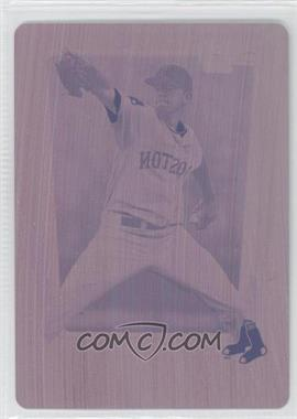 2011 Bowman Draft Picks & Prospects Chrome Draft Picks Printing Plate Magenta #BDPP8 - Matt Barnes /1
