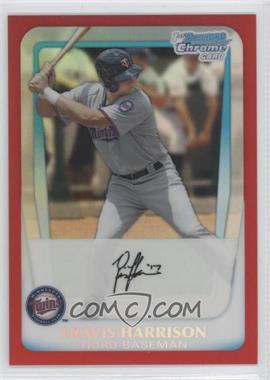 2011 Bowman Draft Picks & Prospects Chrome Draft Picks Red Refractor #BDPP41 - Travis Harrison /5