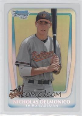 2011 Bowman Draft Picks & Prospects Chrome Draft Picks Refractor #BDPP26 - Nicholas Delmonico