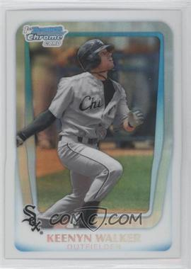 2011 Bowman Draft Picks & Prospects Chrome Draft Picks Refractor #BDPP89 - Keenyn Walker