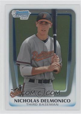 2011 Bowman Draft Picks & Prospects Chrome Draft Picks #BDPP26 - Nicholas Delmonico