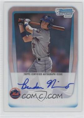 2011 Bowman Draft Picks & Prospects Chrome Prospects Certified Autographs Refractor [Autographed] #BCAP-BN - Brandon Nimmo