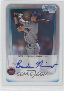 2011 Bowman Draft Picks & Prospects Chrome Prospects Certified Autographs Refractor [Autographed] #BCAP-BN - Brandon Nimmo