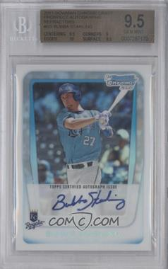 2011 Bowman Draft Picks & Prospects Chrome Prospects Certified Autographs Refractor [Autographed] #BCAP-BS - Bubba Starling /500 [BGS 9.5]