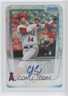 2011 Bowman Draft Picks & Prospects Chrome Prospects Certified Autographs Refractor [Autographed] #BCAP-CC - C.J. Cron /500