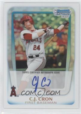 2011 Bowman Draft Picks & Prospects Chrome Prospects Certified Autographs Refractor [Autographed] #BCAP-CC - C.J. Cron /500