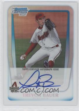 2011 Bowman Draft Picks & Prospects Chrome Prospects Certified Autographs Refractor [Autographed] #BCAP-TB - Trevor Bauer /500