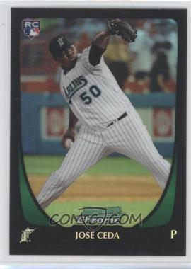 2011 Bowman Draft Picks & Prospects Chrome Refractor #16 - Jose Ceda