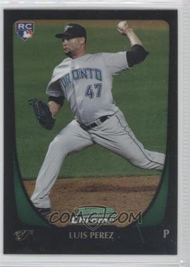2011 Bowman Draft Picks & Prospects Chrome Refractor #69 - Luis Perez